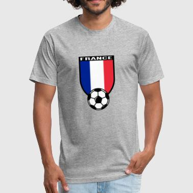 European Football Championship 2016 France - Fitted Cotton/Poly T-Shirt by Next Level