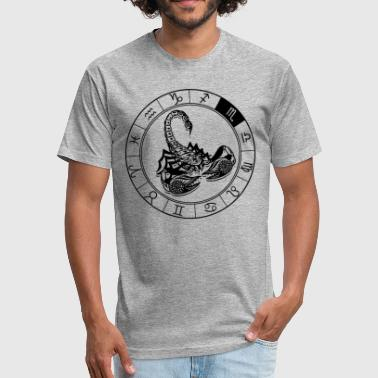Scorpio Clothing Scorpio Shirt - Scorpio Astrological Sign T Shirt - Fitted Cotton/Poly T-Shirt by Next Level