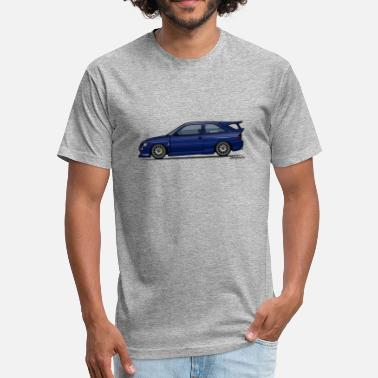 Cosworth Escort Mark V RS Cosworth Pacifica Blue - Fitted Cotton/Poly T-Shirt by Next Level