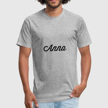 Anna - Fitted Cotton/Poly T-Shirt by Next Level