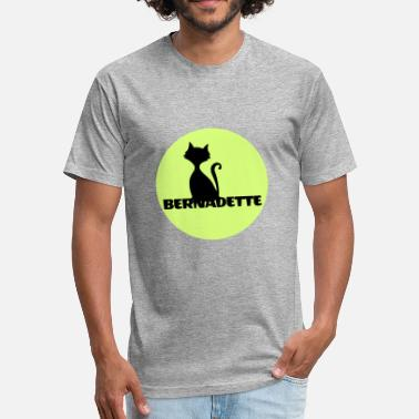 First Name Bernadette name first name - Fitted Cotton/Poly T-Shirt by Next Level