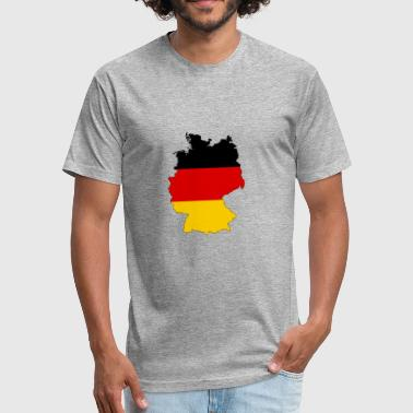 Germany Kids germany - Fitted Cotton/Poly T-Shirt by Next Level