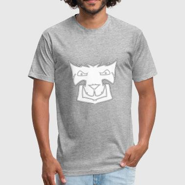 White Wolf - Fitted Cotton/Poly T-Shirt by Next Level