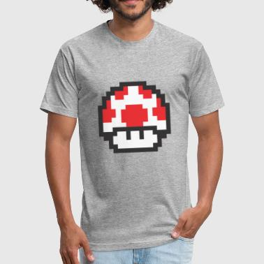 Red Mushroom Red Mushroom - Fitted Cotton/Poly T-Shirt by Next Level