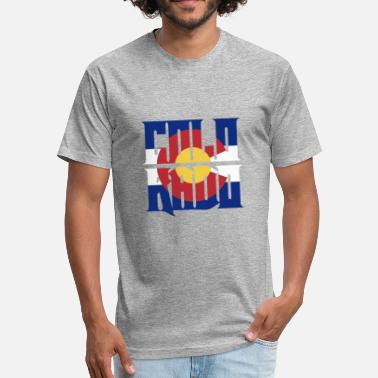 Vintage Colorado Colorado - Fitted Cotton/Poly T-Shirt by Next Level