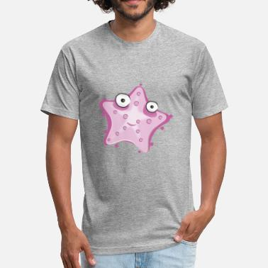 Starfish starfish - Fitted Cotton/Poly T-Shirt by Next Level