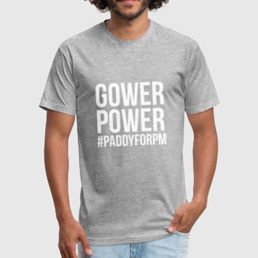 Gower GOWER power - Fitted Cotton/Poly T-Shirt by Next Level