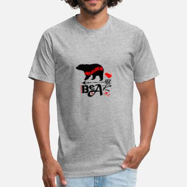 Mama Bear Clothes mama bear - Fitted Cotton/Poly T-Shirt by Next Level