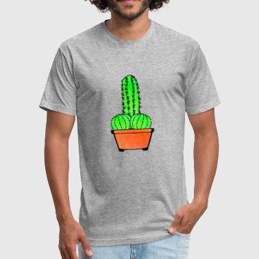 Provocative Cactus and Aloe - Fitted Cotton/Poly T-Shirt by Next Level