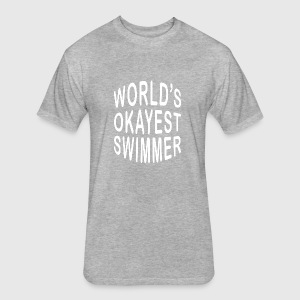 Swimmer/Swimming/Swim Cool Gift-World\'s Okayest by The Smiley Goods ...
