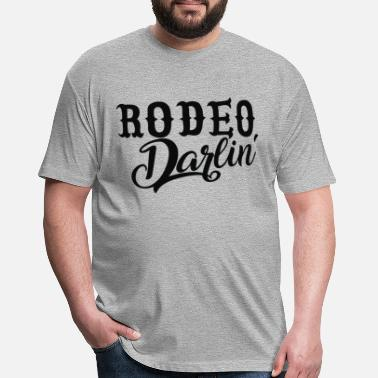 Darlin Rodeo Darlin - Fitted Cotton/Poly T-Shirt by Next Level