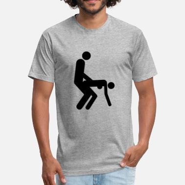 69 Sex Position Sex positions - Fitted Cotton/Poly T-Shirt by Next Level