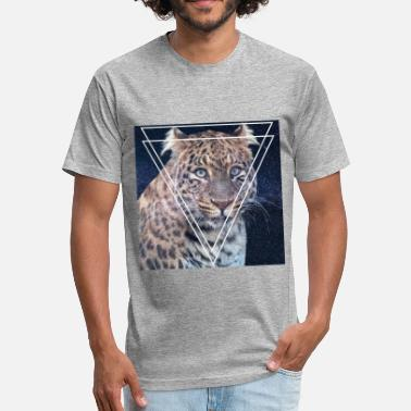 Lynx LYNX STYLISH VINTAGE HIPSTER TRI-ANGLE SHIRT - Unisex Poly Cotton T-Shirt