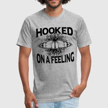 Hooked On A Feeling Boxing Hooked On A Feeling Shirt - Fitted Cotton/Poly T-Shirt by Next Level