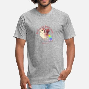 Magically Delicious Magically Delicious - Fitted Cotton/Poly T-Shirt by Next Level
