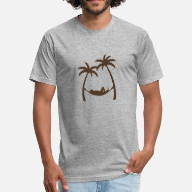Undertale Baby Siesta Under Palms funny tshirt - Fitted Cotton/Poly T-Shirt by Next Level