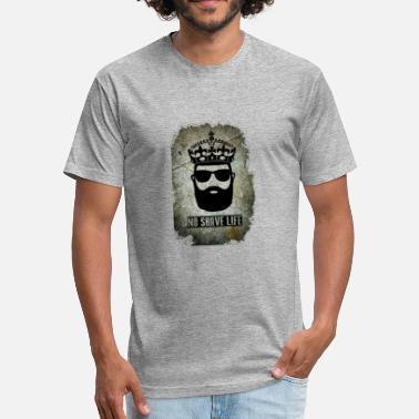 Beard Life No Shave Life Beard - Fitted Cotton/Poly T-Shirt by Next Level