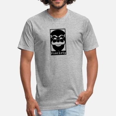 Fsociety fsociety - Fitted Cotton/Poly T-Shirt by Next Level