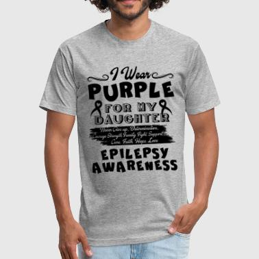 Epilepsy Awareness Shirt - Fitted Cotton/Poly T-Shirt by Next Level