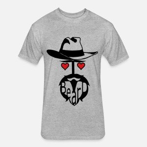 I love beard hat man exclusive Men's Premium T-Shirt