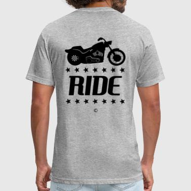 V-twin RIDE Cruiser - Fitted Cotton/Poly T-Shirt by Next Level