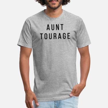 d3fd7a39d4a04 Gift Aunt Aunt Tourage Gift for Aunts Auntie - Unisex Poly Cotton T-Shirt