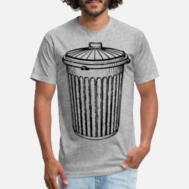 Trash Can Trash Can - Unisex Poly Cotton T-Shirt
