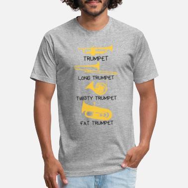 0cecef8a04 Funny types of trumpets, funny trumpet gift idea - Unisex Poly Cotton T- Shirt