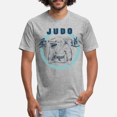 Judo Fight Judo Shark Fight - Unisex Poly Cotton T-Shirt