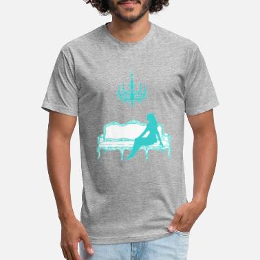 Tiffany Breakfast at Sofie's logo (tiffany blue)(no name) - Unisex Poly Cotton T-Shirt
