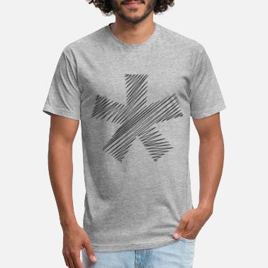 Asterisk asterisk - Unisex Poly Cotton T-Shirt