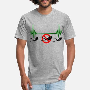 Heart Rate Divers Heart Rate - Unisex Poly Cotton T-Shirt