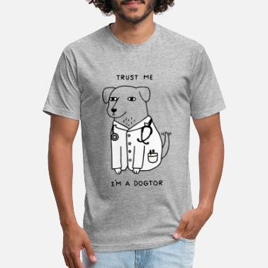 Trust Trust me i'm a dogtor dogtor the dog doctor - Unisex Poly Cotton T-Shirt