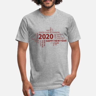 New Years Day Happy New Year 2020 - Unisex Poly Cotton T-Shirt
