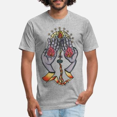 Unique Healing Hands - Unisex Poly Cotton T-Shirt