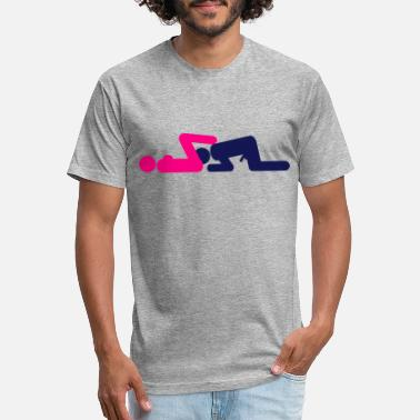 Lick Sex - licking - Unisex Poly Cotton T-Shirt