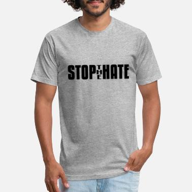 Hate Crime Stop the Hate 2 - Unisex Poly Cotton T-Shirt