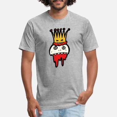 King Skull Skull King - Unisex Poly Cotton T-Shirt