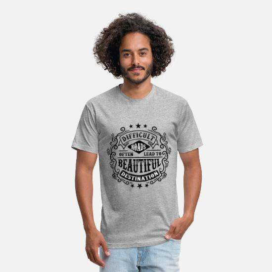 Collection T-Shirts - ROADS2 - Unisex Poly Cotton T-Shirt heather gray