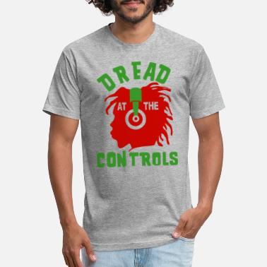 Dread At The Controls Dread At The Controls T Shirt - Fitted Cotton/Poly T-Shirt by Next Level