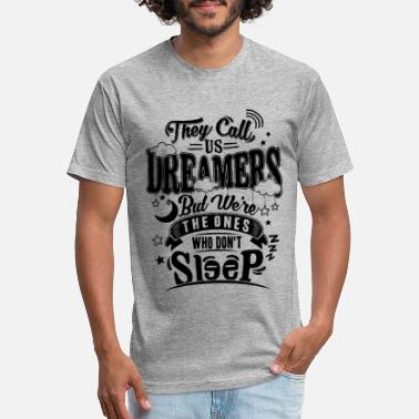 Typo Collection dreamer - Unisex Poly Cotton T-Shirt