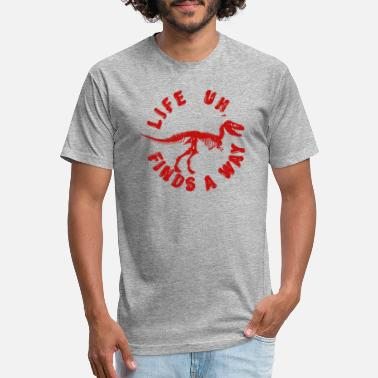 Life Uh finds a way shirt - Unisex Poly Cotton T-Shirt