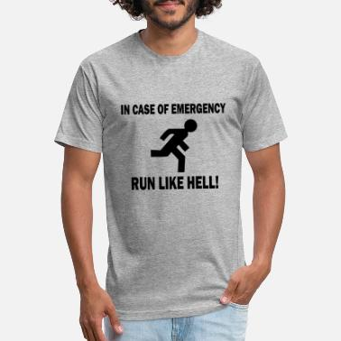 Emergency In Case Emergency - Unisex Poly Cotton T-Shirt