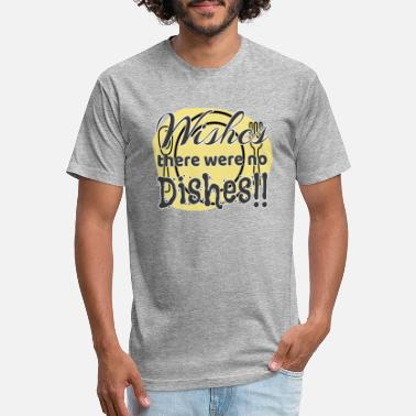 Dish No Dishes! - Unisex Poly Cotton T-Shirt