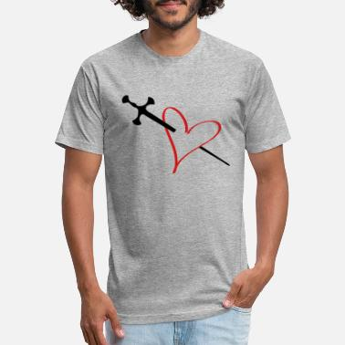 Animo heart - Unisex Poly Cotton T-Shirt