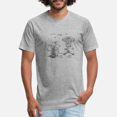 407a9e14 Drum Kit Assembly Design Patent Blueprint - Unisex Poly Cotton T-Shirt