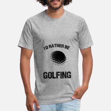Golf Course Golf Golfer Golfing Golf ball Golf course - Unisex Poly Cotton T-Shirt