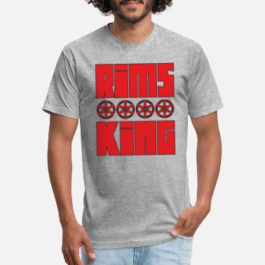 Rim Rims King - Tuner King of the rims - Unisex Poly Cotton T-Shirt