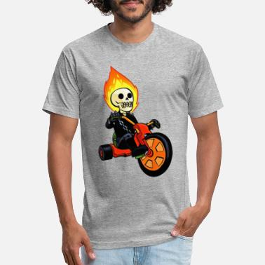Three Wheeler Big Wheeler - Unisex Poly Cotton T-Shirt