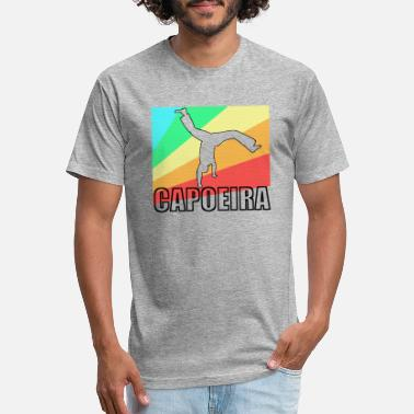 Mixed Martial Ar Capoeira fighting dance Brazil gift - Unisex Poly Cotton T-Shirt
